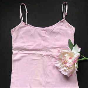 Tops - Light Pink Cami Tank Top, Size S